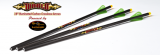 DIABLO ILUMINATED Carbon Arrows,3ks