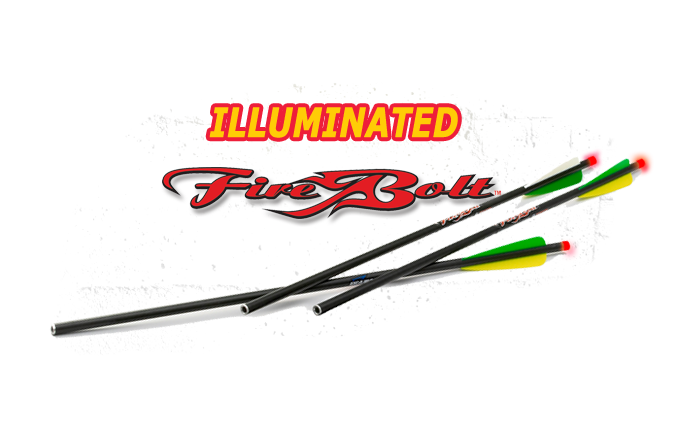 FIREBOLT Illuminated Carbon Arrows