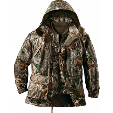Cabela's Men's 10-Point 4-in-1 Parka with 4MOST DRY-PLUS®