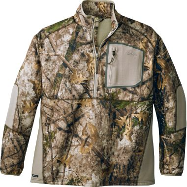 Cabela's Men's Merino Tech 1/2-Zip Long-Sleeve Top
